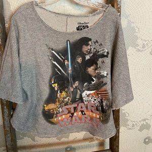Star Wars the Last Jedi sweatshirt / poncho style